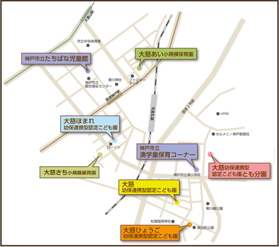 姉妹園マップ